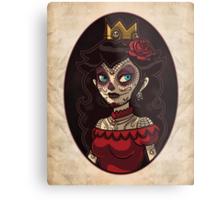 Dia de la Princesa Metal Print