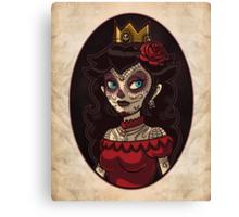 Dia de la Princesa Canvas Print