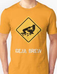 Funny Drunk Deja Brew T-Shirt