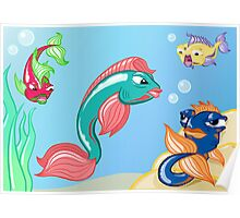 Under the Sea Poster