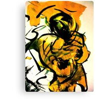 nude..... of unknown origin Canvas Print