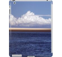 Strom brewing over the Inlet iPad Case/Skin