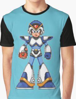 Mega Man X - Light Armor Graphic T-Shirt