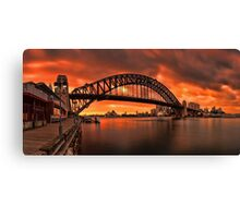 Milsons Point  Canvas Print