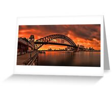 Milsons Point  Greeting Card