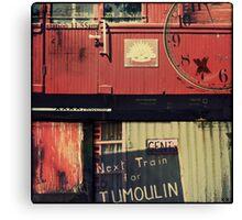 Next Train Canvas Print