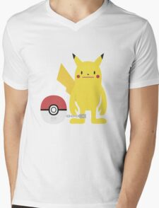 PokéDeki Mens V-Neck T-Shirt