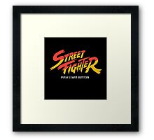 Street Fighter - Arcade Framed Print