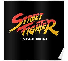 Street Fighter - Arcade Poster