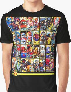G.I. Joe in the 80s!  Cobra Edition! (Version B) Graphic T-Shirt