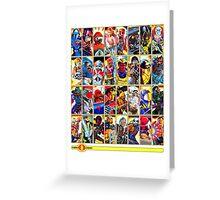 G.I. Joe in the 80s!  Cobra Edition! (Version B) Greeting Card