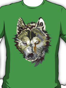 Wolf vector design T-Shirt
