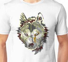 Wolf vector design Unisex T-Shirt