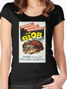 The Blob Vintage Movie Women's Fitted Scoop T-Shirt