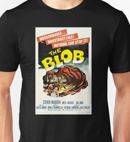 The Blob Vintage Movie Unisex T-Shirt