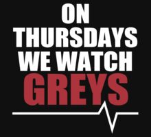 ON THURSDAYS WE WATCH GREY'S - For dark by pixelsgeek