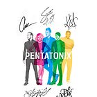 Signed Pentatonix by ninjaliv