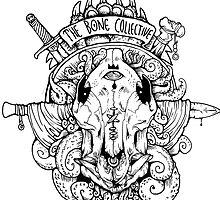 bone collective logo by dramamine