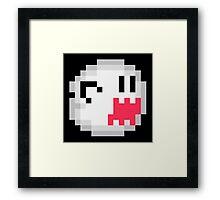 Boo Buddies Ghost Super Mario World Framed Print