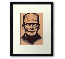 The Monster Framed Print