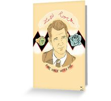 Chet  Greeting Card