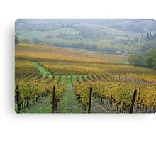 Greve in Chianti - Toscana - Italy Canvas Print