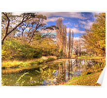 Autumn Leaves - Rockley NSW - The HDR Experience Poster