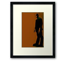 The Monster Is Loose! Framed Print