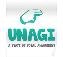 Unagi - Friends Poster