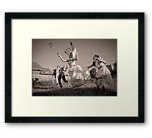 Marie Zinantoinette Framed Print