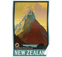 Vintage poster - New Zealand Poster