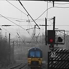 Train 333002 from Bradford to Leeds Arrives at Shipley by andyj81