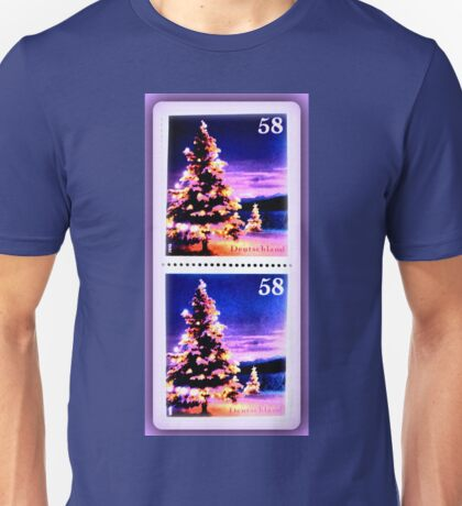 Christmas Stamps Unisex T-Shirt