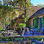 OUTDOOR DINING IN THE SOUTH by TJ Baccari Photography
