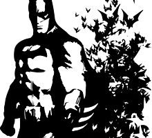 The Dark Knight - Batman  by J. Danion