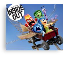 INSIDE OUT - TEAM 02 Canvas Print