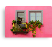 Pretty with the Pink :D Canvas Print