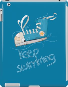 Keep Swimming by dabones