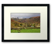 Austere Beauty of The Lakes Framed Print
