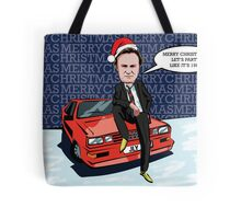 Ashes to Ashes Gene Hunt Christmas Card Tote Bag