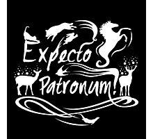 Expecto patronum deer Photographic Print