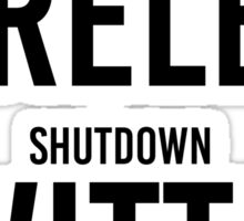 "STORMZY SHUT UP ""shutdown wireless, shutdown twitter"" Sticker"