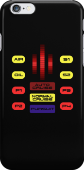 Knight Rider KITT Car Dashboard Graphic by Creative Spectator