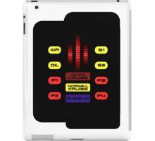 Knight Rider KITT Car Dashboard Graphic iPad Case/Skin
