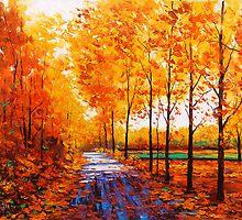 Golden Trail by Graham Gercken