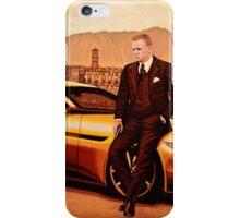 Daniel Craig in SPECTRE as James Bond iPhone Case/Skin