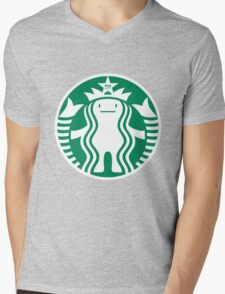 StarbucksDeki Mens V-Neck T-Shirt