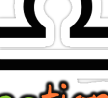 Libra Upfront Sticker