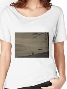 Lonely Coniston Water Cumbria Women's Relaxed Fit T-Shirt