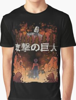 Attack on giant Graphic T-Shirt